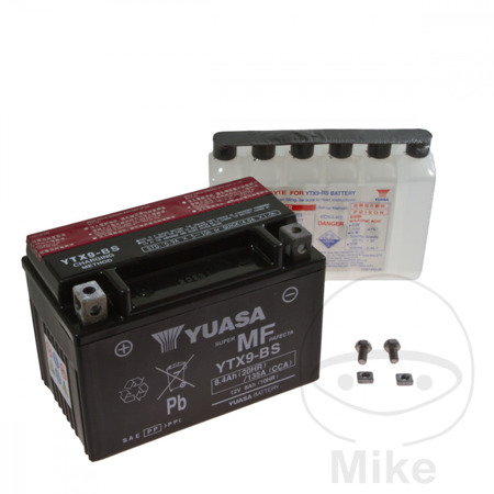 Akumulator Yuasa - YTX9-BS (DMX9-12B)