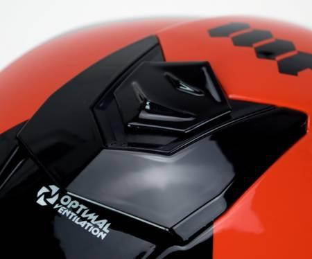 Kask MT BLADE 2 SV 89 B5 czarny szary czerwony
