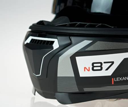 Kask NOLAN N87 ORIGINALITY N-COM 68 czarno-szary