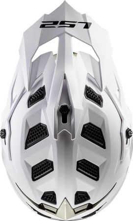 Kask crossowy LS2 MX470 SUBVERTER SOLID biały