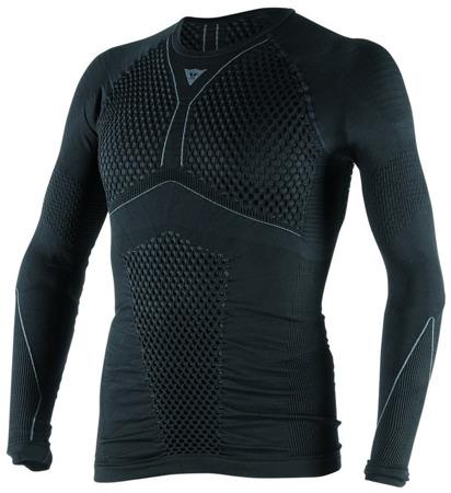 Koszulka termoaktywna DAINESE D-CORE THERMO TEE LS czarno-szara