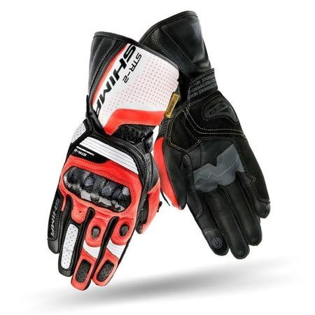 Rękawice SHIMA STR-2 GLOVES czerwone fluo