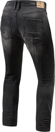 Spodnie jeansowe REV'IT Brentwood SF długie ciemnoszare