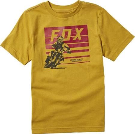 T-shirt FOX ADVANTAGE JUNIOR /musztardowy/