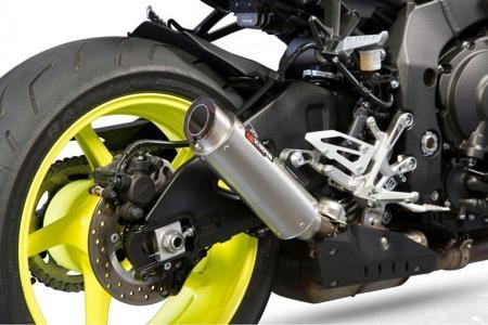 Yamaha MT-10 16/17 RP1-GP Slip-on Tianium Sleeve YA1003TEM