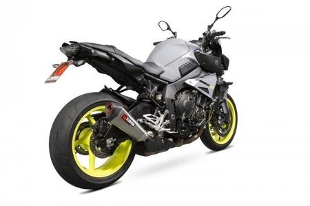 Yamaha MT-10 16/17 Serket Taper Slip-on Stal Nierdzewna RYA102SEO