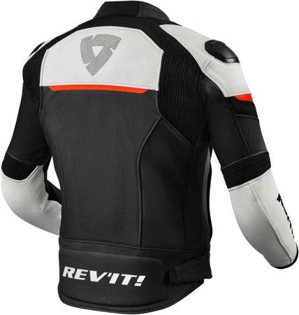 Zestaw: kurtka skórzana REV'IT CONVEX / spodnie skórzane REV'IT VERTEX GT